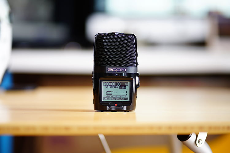 ZOOM H2n を購入したので、GoProと組み合わせて、バイクの楽しさを記録する