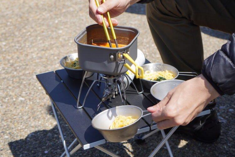 バイクキャンプでの 調理道具選びのポイント