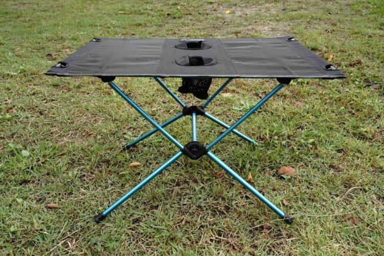 バイクキャンプツーリングに最適なテーブルとローテーブルのオススメ【テーブルレビュー】