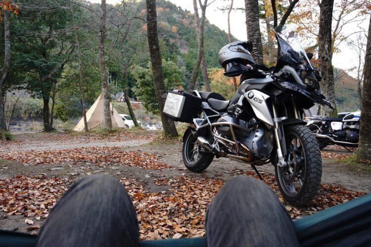 木和田キャンプ場【関西発バイク横付け】【バイクキャンプツーリング】