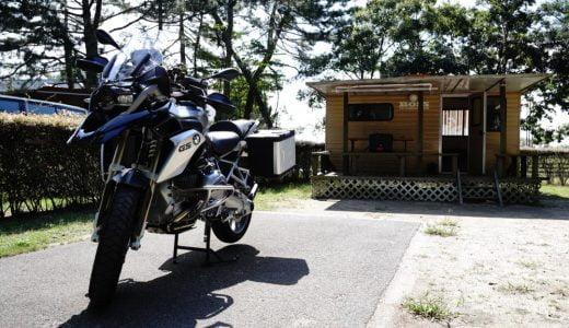マイアミ浜オートキャンプ場【関西発バイク横付け】【バイクキャンプツーリング】