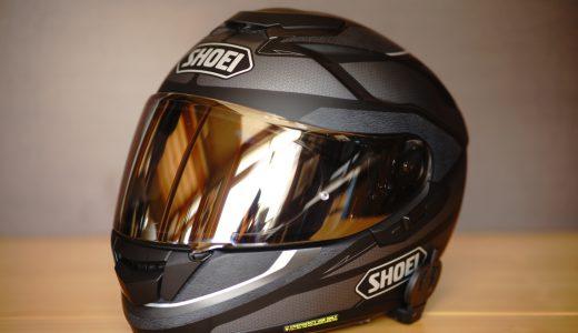 SHOEI GT-AIRは機能性を重視した万能ヘルメットです【レビュー】